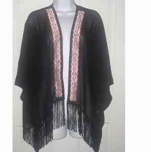 Cato sheer kimono cardigan